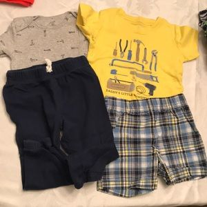 Baby Boy tool outfit set